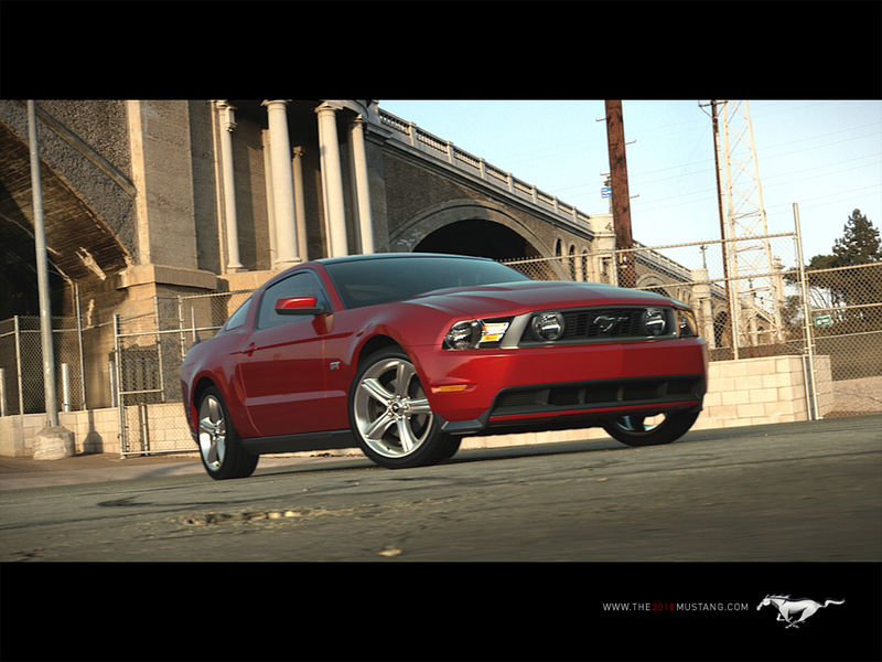 Mustang_2010_front