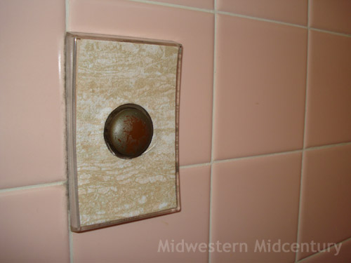 Midwestern Midcentury Mid Century Modern Home Features Unusual Push On Light Switches