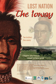 """Lost Nation: The Ioway"" theatrical poster."