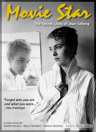 """Movie Star: The Secret Lives of Jean Seberg"" preliminary poster art."