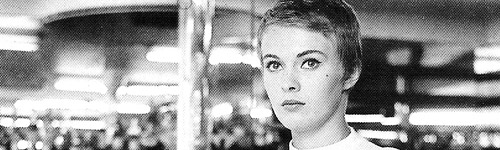 "Jean Seberg in ""Breathless"""