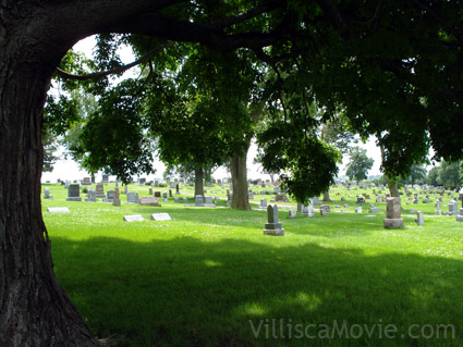 Villisca cemetery view.