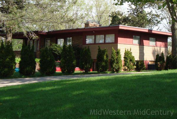 Midwestern Midcentury East Moline Illinois Mid Century