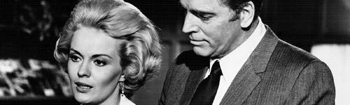 """Jean Seberg and Burt Lancaster in """"Airport."""""""