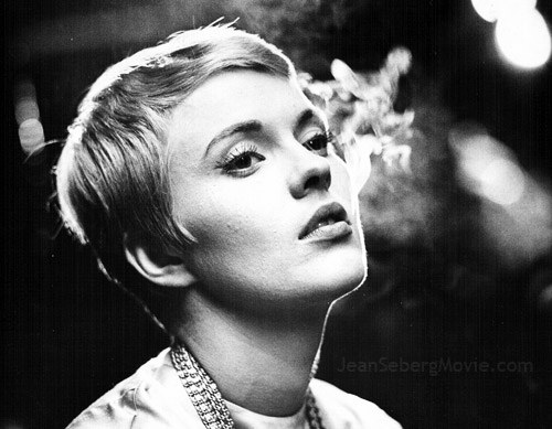 "Jean Seberg in ""Time Out Love."""