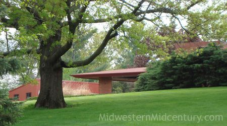 Another view of the Lamberson house in Iowa.