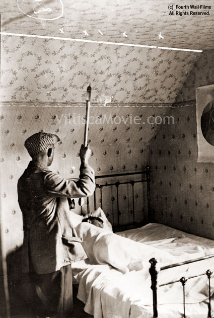 A recreation of the Villisca axe murders, circa 1916.