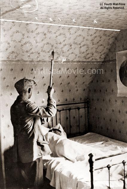 A recreation of the Villisca axe murders, circa 1916.
