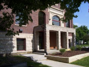 Morengo, Iowa public library.
