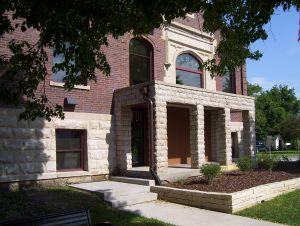 Morengo, Iowa public library.