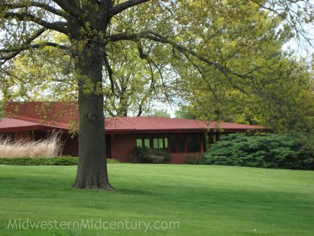 Frank Lloyd Wright's Lamberson house in Oskaloosa.