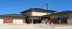Montgomery County History Center in Red Oak, Iowa.