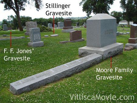 Axe murder Victims in Villisca's cemetery.