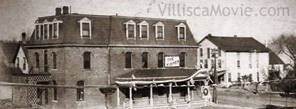 The Fisher Hotel in Villisca, Iowa.