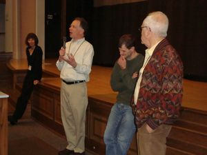 """Ioway"" Film screening discussion."
