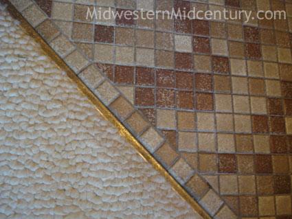Vintage tile floor.