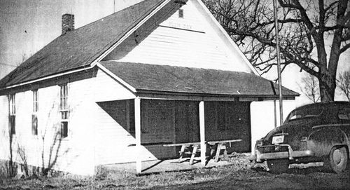 Plainview Country School circa 1958.