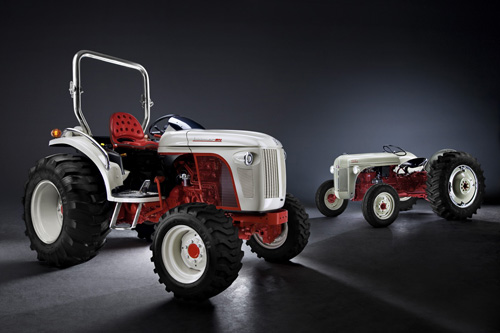 New Boomer 8N with the classic Ford 8N tractor.