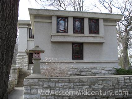 Walter Griffin's Blythe House in Mason City, Iowa.