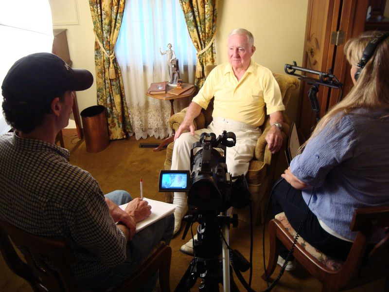 Interview with Patton Apgar in Marshalltown, Iowa.