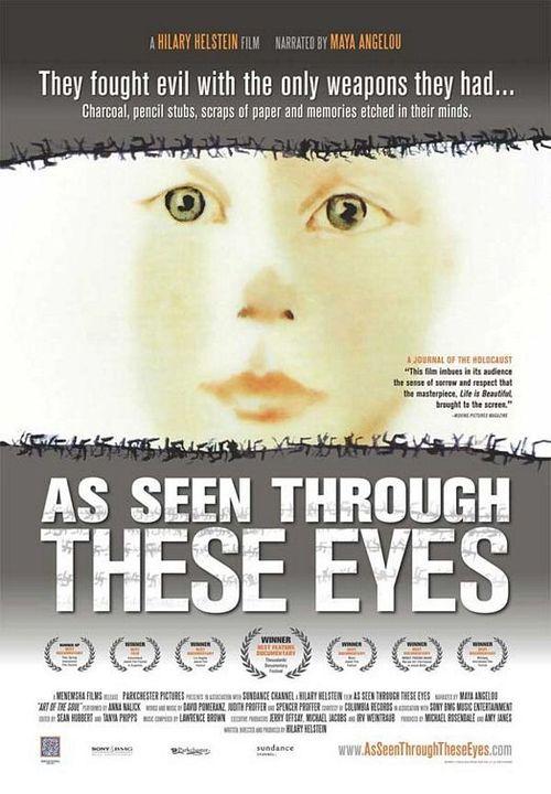 """As Seen Through These Eyes"" key art."