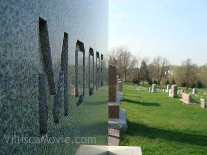 Josiah Moore family gravesite in Villisca, Iowa.