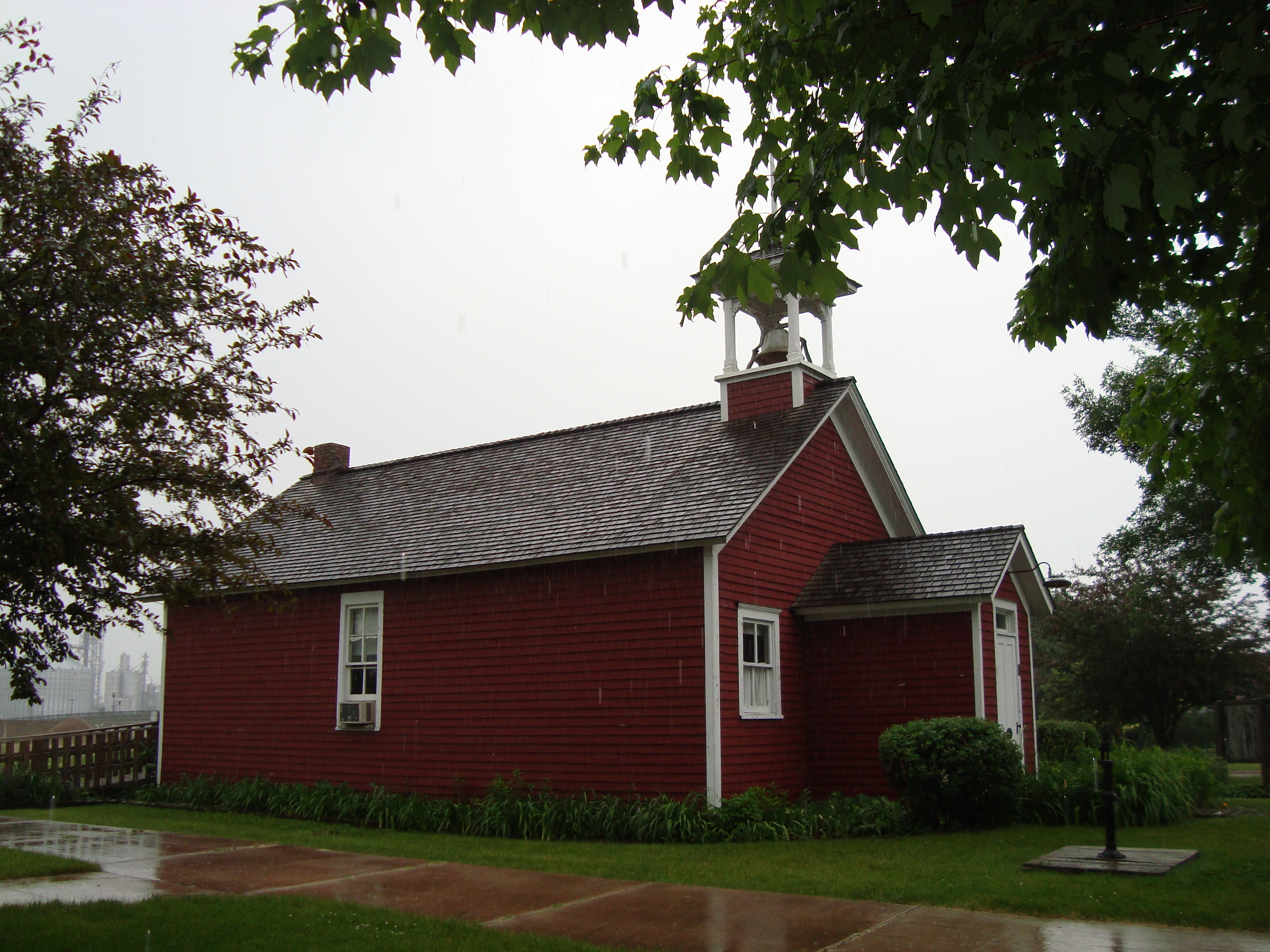 Country School One Room One Nation Country School At Shell