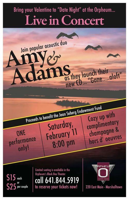 Orpheum Adams ad