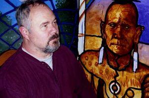 Lance & painting
