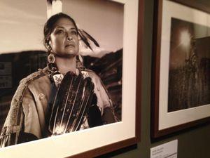 Sarita on display