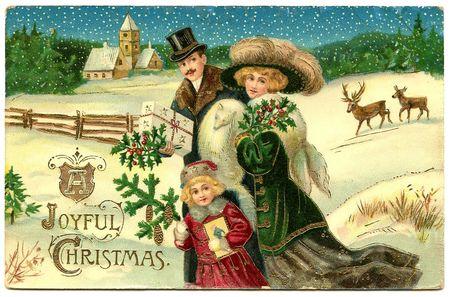 Christmas victorian