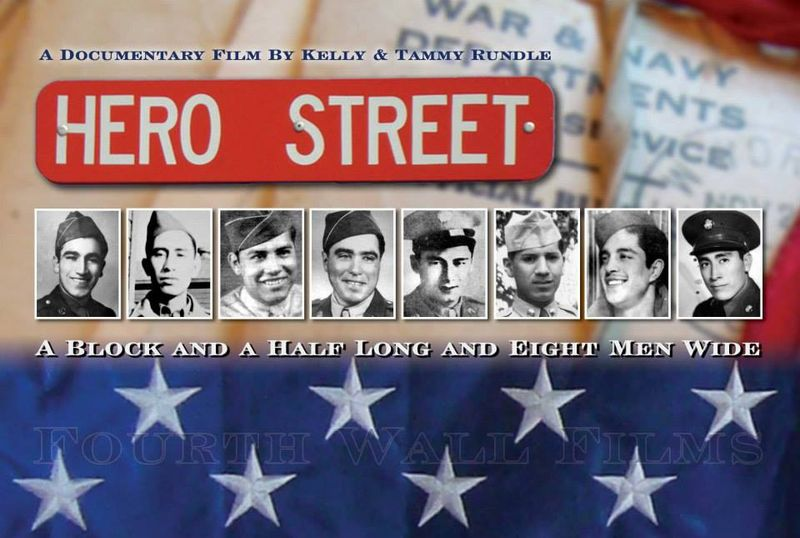 Hero street postcard art