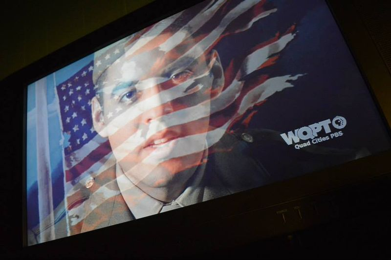 Eric & flag