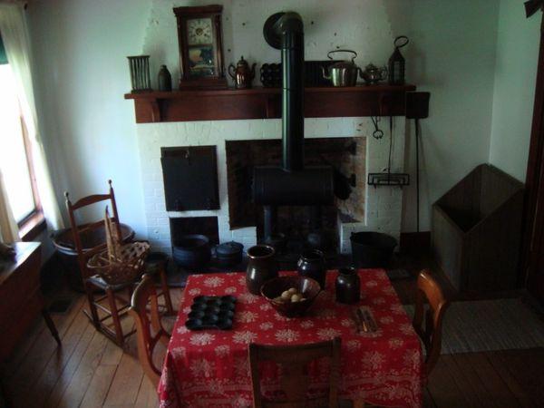 Plum Grove dining room