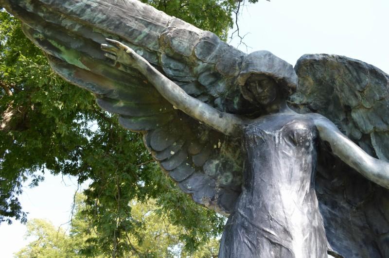 Iowa city black angel2