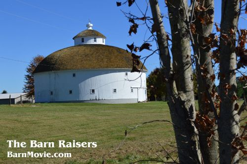 Issac Rozell Round Barn captioned
