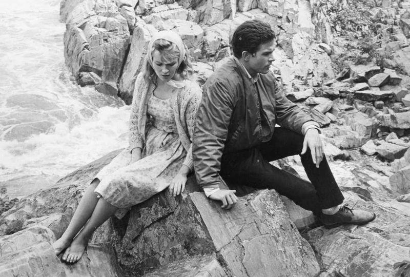 Lilith Jean & Warren on rocks