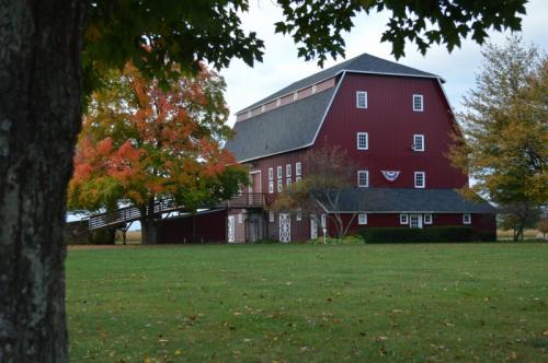 Gilmore Auto Museum barn
