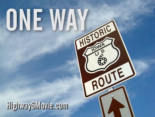 One way landscape