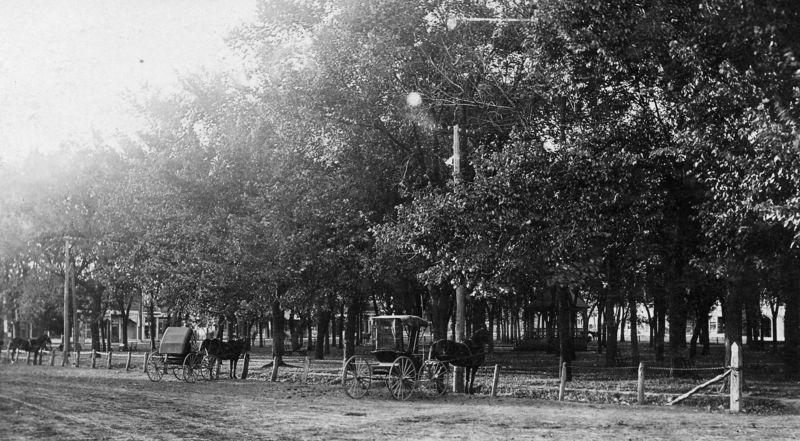 Villisca square 1900s