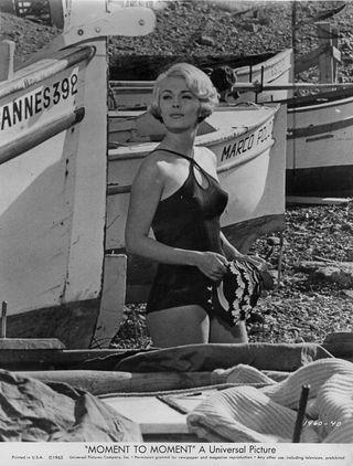 1965 Jean Seberg Moment To Moment
