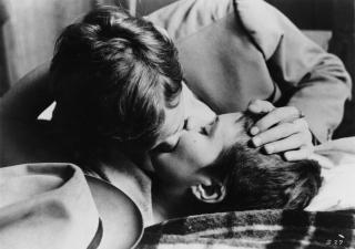 Breathless kiss