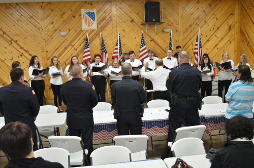 Choir and first responders