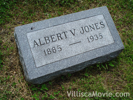 Albert Jones grave