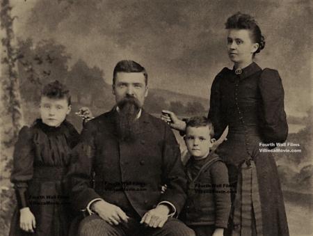 Jones family_BW labelled