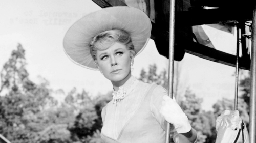 Doris Day in hat