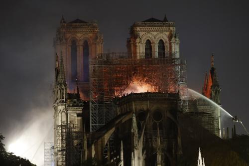 AP Notre Dame Fire
