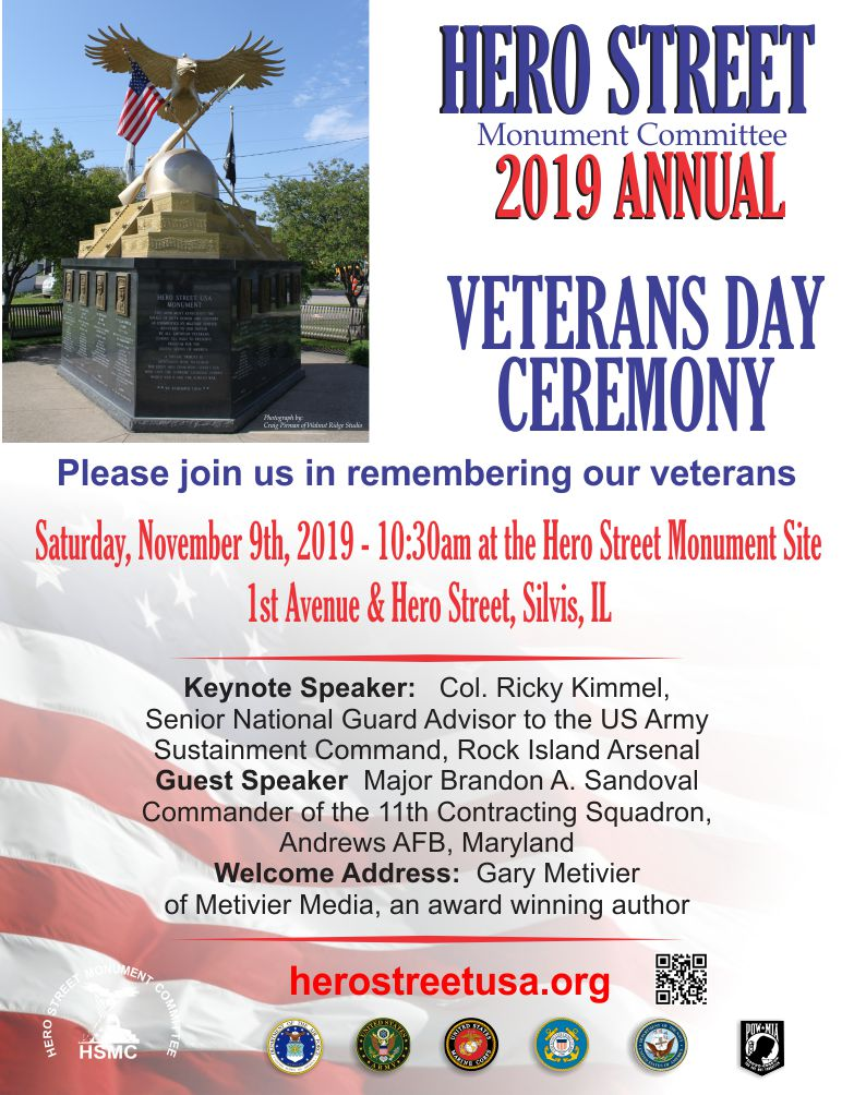 2019 veterans day flyer