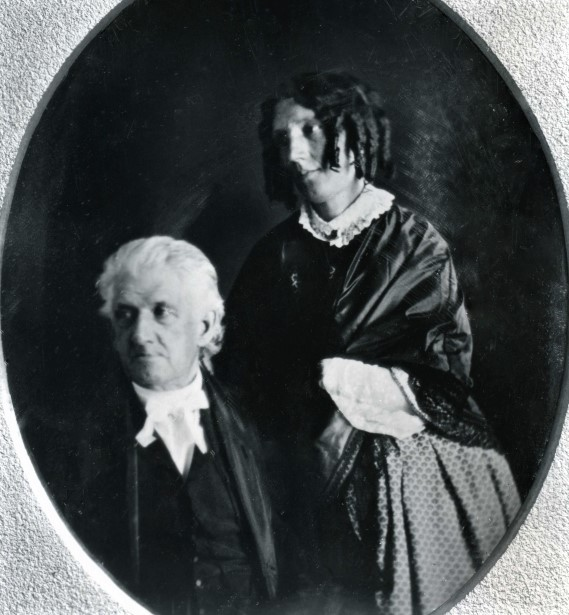 Harriet and Lyman Beecher adj