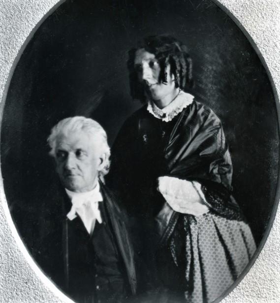 Harriet and Lyman Beecher adj